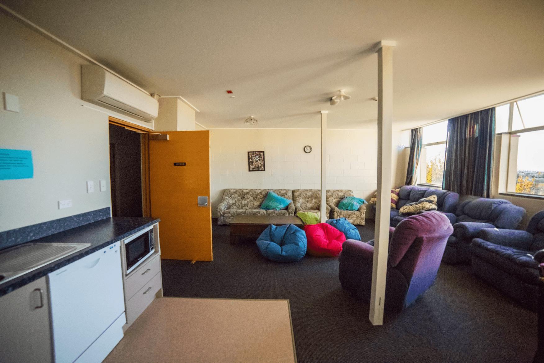 Waitaki Girls High boarding lounge