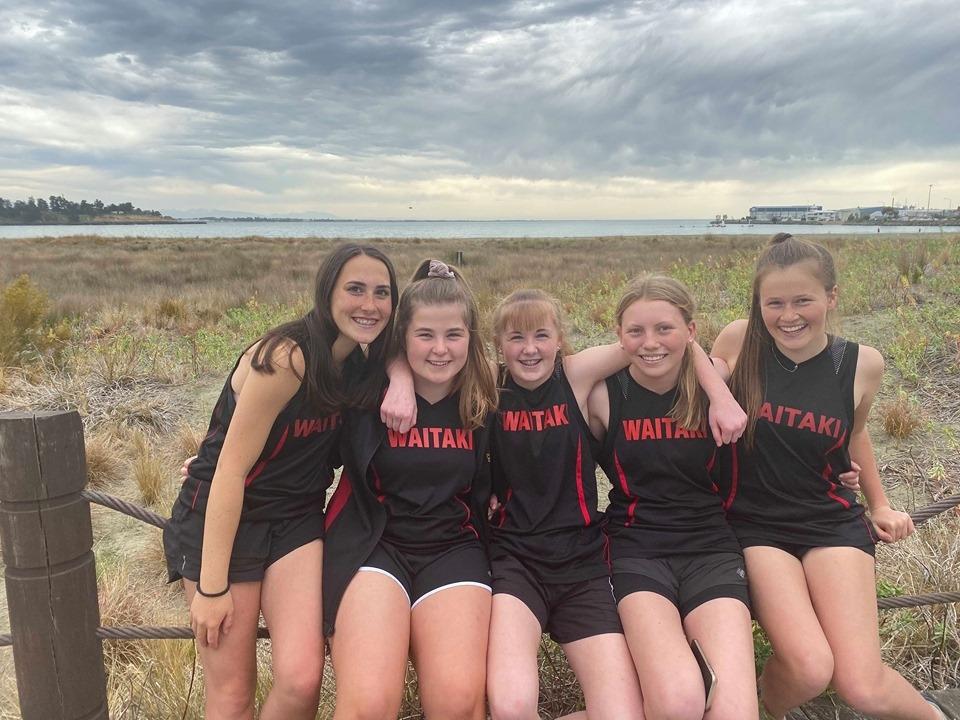 Waitaki Girls High sports uniform